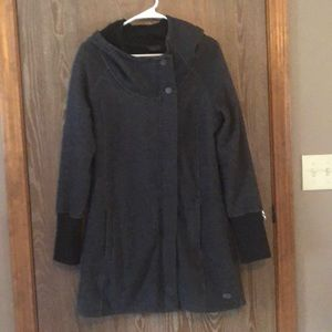 North Face Knit Coat, Size M